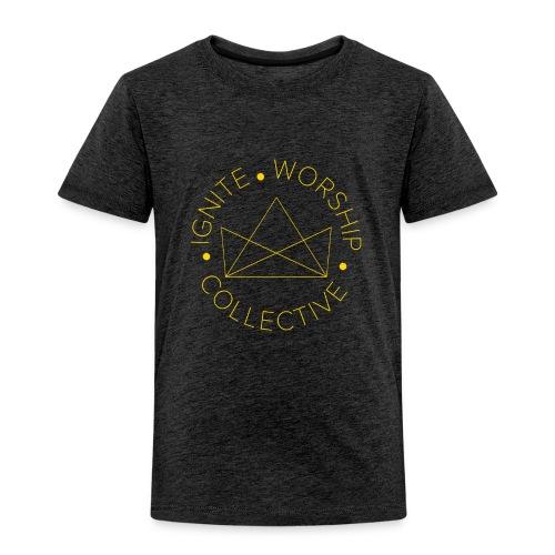 Monogram w/ Crown - Toddler Premium T-Shirt