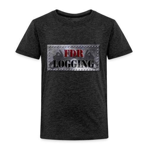 FDR Logging Main Logo - Toddler Premium T-Shirt