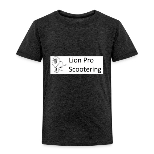 Lion Scootering Logo - Toddler Premium T-Shirt