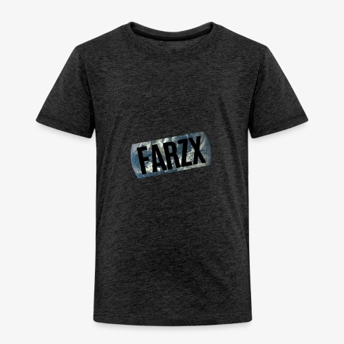 FARZX LOGO PNG - Toddler Premium T-Shirt