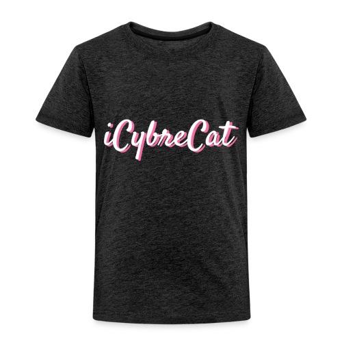 iCybreCat Script - Toddler Premium T-Shirt