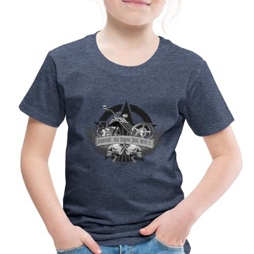 Hardcore. Old School. Deal With It. - Toddler Premium T-Shirt