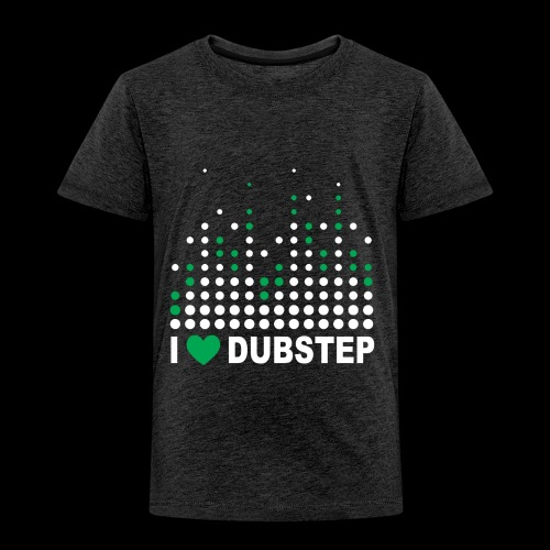 I heart dubstep - Toddler Premium T-Shirt