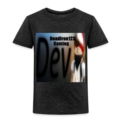 Deadiron123 Gaming Dev Phone case. - Toddler Premium T-Shirt