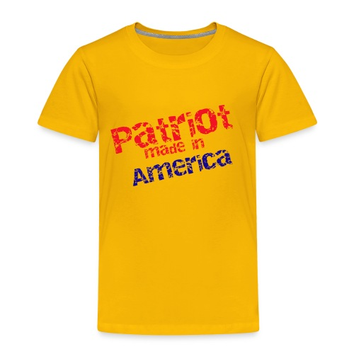 Patriot mug - Toddler Premium T-Shirt
