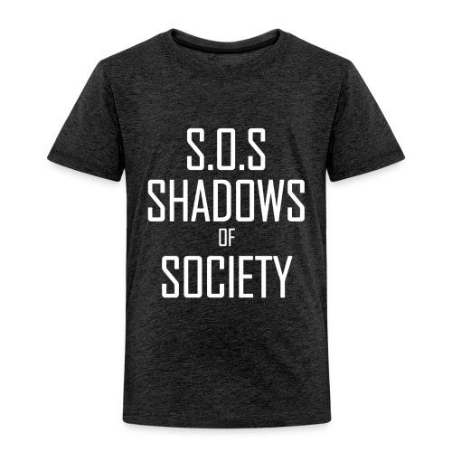 Shadows of Society - Toddler Premium T-Shirt