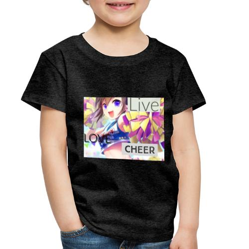 live love cheer - Toddler Premium T-Shirt