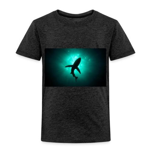 Shark in the abbis - Toddler Premium T-Shirt