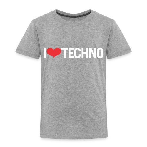 I Love Techno - Toddler Premium T-Shirt