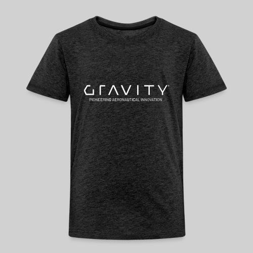 Gravity Logo with Tagline - Toddler Premium T-Shirt