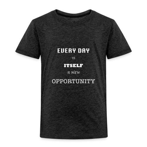 Opportunity (in White) - Toddler Premium T-Shirt