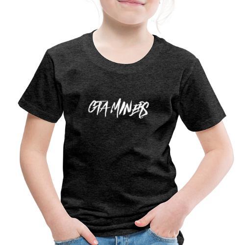GTA MINERS WHITE LOGO - Toddler Premium T-Shirt