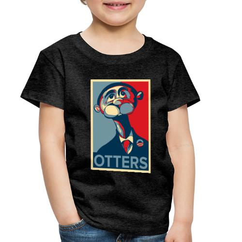 OTTERS (Hope Poster) - Toddler Premium T-Shirt