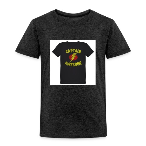 Captain awesome - Toddler Premium T-Shirt