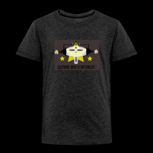 Butch DeLuca Music Skull w/ Headphones - Toddler Premium T-Shirt