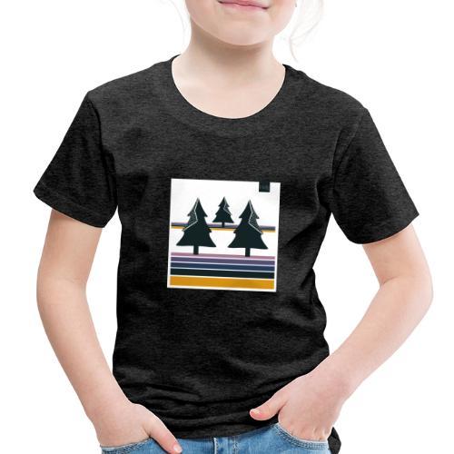 Trees on the Horizon - Toddler Premium T-Shirt