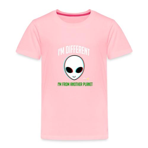 I'm different - Toddler Premium T-Shirt