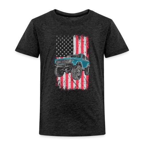Bronco Drop the Hammer Truck Men's T-Shirt - Toddler Premium T-Shirt