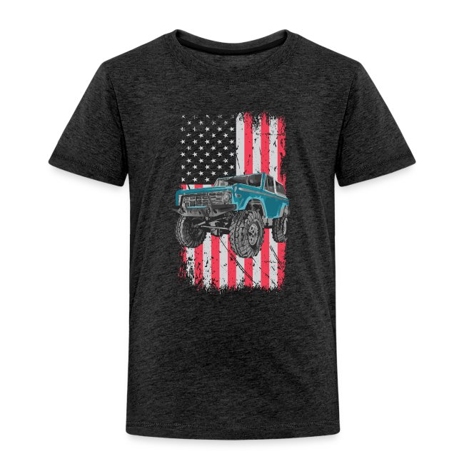 Bronco Drop the Hammer Truck Men's T-Shirt