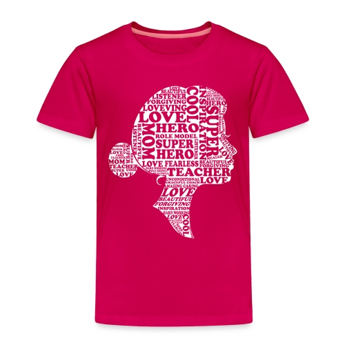Mother Definition, Teacher Mom, Great Teacher Mom - Toddler Premium T-Shirt