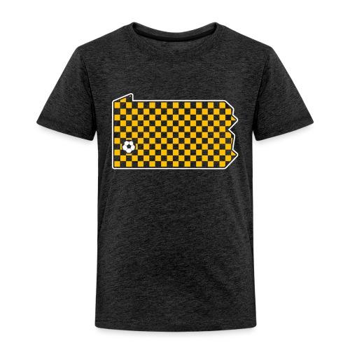Pittsburgh Soccer - Toddler Premium T-Shirt