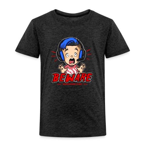 Headphone Users Beware - Toddler Premium T-Shirt