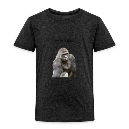 Pray for Harambe - Toddler Premium T-Shirt