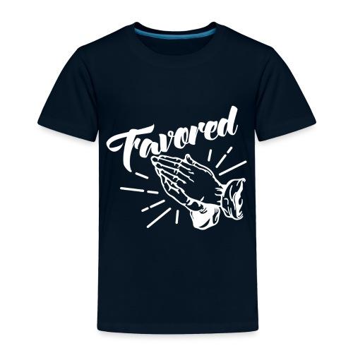 Favored - Alt. Design (White Letters) - Toddler Premium T-Shirt