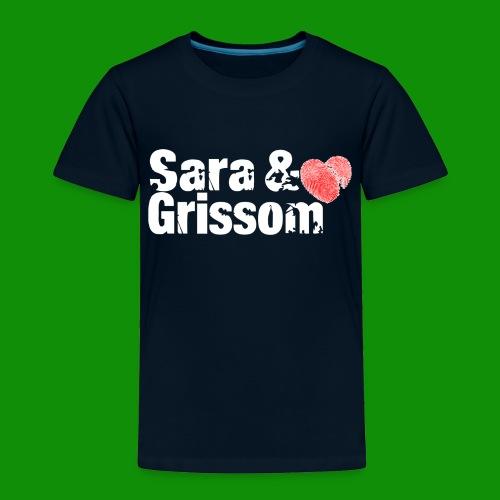 SARA & GRISSOM - Toddler Premium T-Shirt