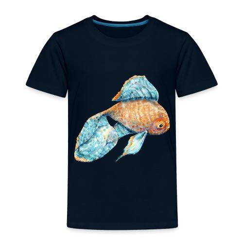 Blue Goldfish - Toddler Premium T-Shirt