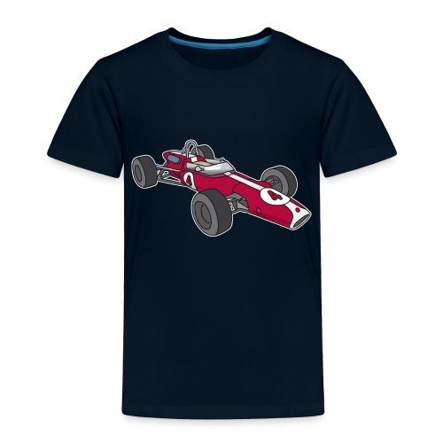 Red racing car, racecar, sportscar - Toddler Premium T-Shirt