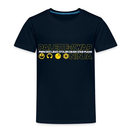 Princess Leia's Stolen Death Star Plans - Toddler Premium T-Shirt