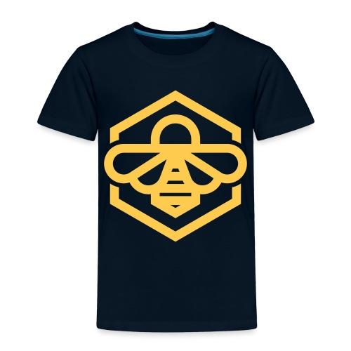 bee symbol orange - Toddler Premium T-Shirt
