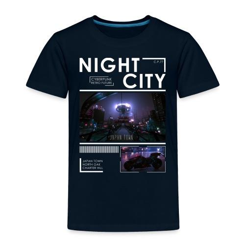 Night City Japan Town - Toddler Premium T-Shirt