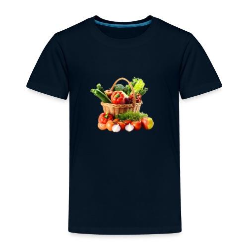 Vegetable transparent - Toddler Premium T-Shirt