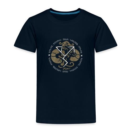 Witness True Sorcery Emblem (Alu, Alu laukaR!) - Toddler Premium T-Shirt