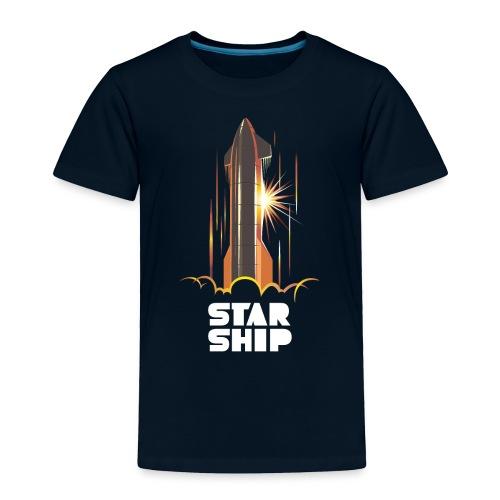 Star Ship Mars - Dark - Toddler Premium T-Shirt
