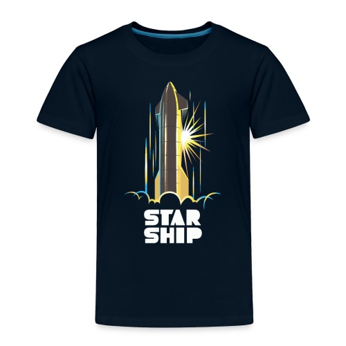 Star Ship Earth - Dark - Toddler Premium T-Shirt