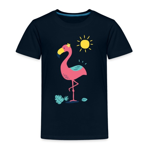 Khodeco design flamingo - Toddler Premium T-Shirt