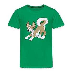 Crouching Chihuahua - Toddler Premium T-Shirt