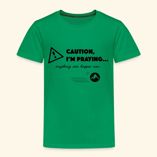 Anything Can Happen Now - Toddler Premium T-Shirt