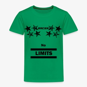 Racer black - Toddler Premium T-Shirt