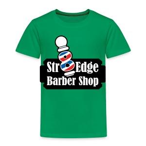 Str8 Edge Logo - Toddler Premium T-Shirt