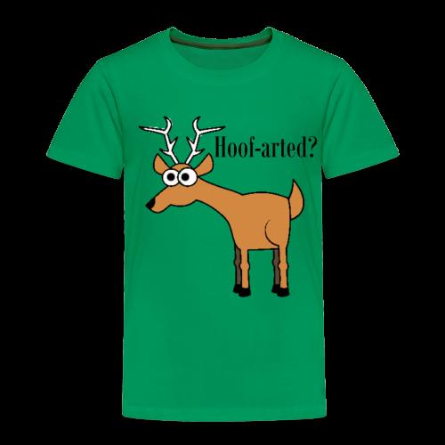 Hoof-arted? - Toddler Premium T-Shirt