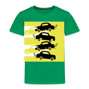 cars in the city - Toddler Premium T-Shirt