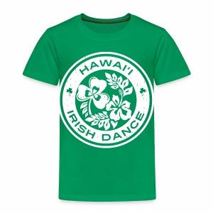 Hawaii Irish Dance Logo Distressed - Toddler Premium T-Shirt