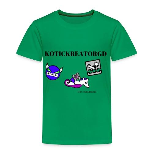 KOTICKREATORGD (Fan Request) Brand - Toddler Premium T-Shirt