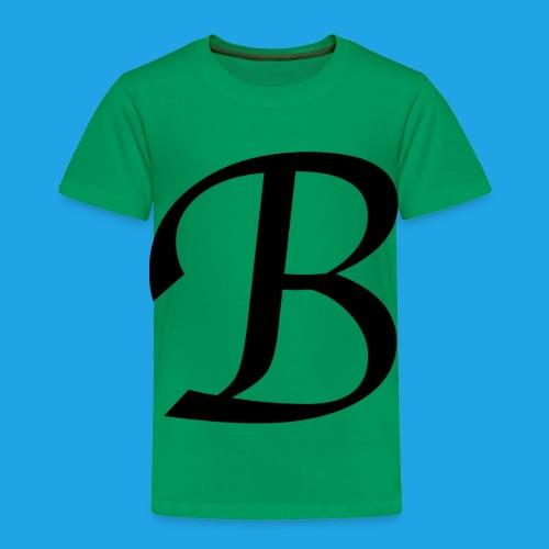 Letter B - Toddler Premium T-Shirt
