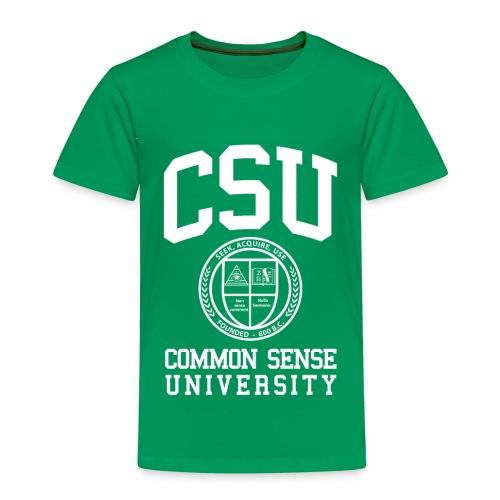 Common Sense Black T-Shirts - Toddler Premium T-Shirt