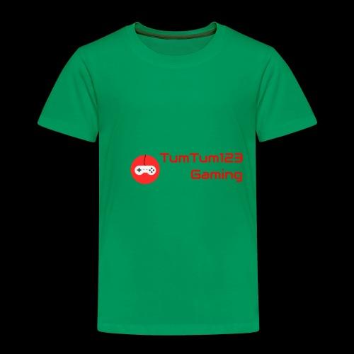 TumTum123 Gaming Emblem 2.0 - Toddler Premium T-Shirt
